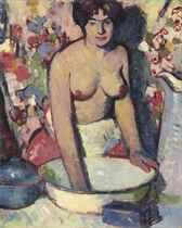 Anne Estelle Rice, washing
