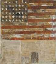 Flag after Jasper Johns