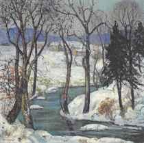 Snow Mantle, Upper Black Eddy