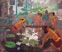 Women by the Lotus Pond