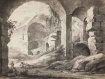 View in the Colosseum, Rome
