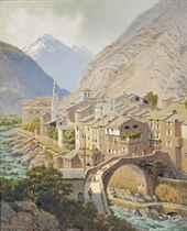 Breil-sur-Roya in the Alps