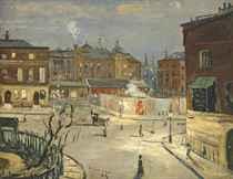 Camden Town: Night Scene