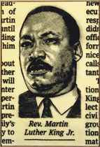 Rev. Martin Luther King Jr.