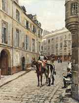 Henri Victor Lesur (FRENCH, 1863-1900)