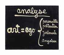 Analyse. Art = Ego