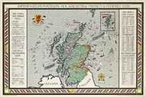A MAP OF SCOTLAND