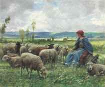 Julien Dupré (French, 1851-1910)