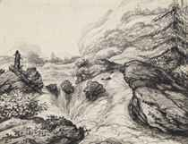 Rapids in a rugged northern landscape