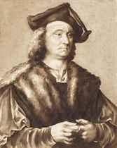 Portrait of a man, after Joos van Cleve