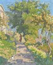 The garden path