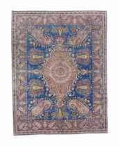 A very fine unusual Kirman carpet