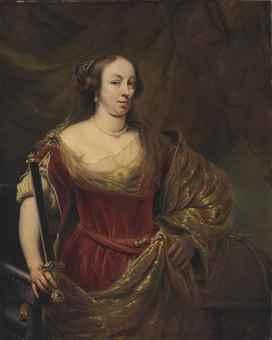 Maria Louise Gonzaga (1611-1667) Ferdinand Bol