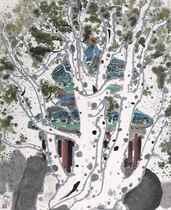 A Lacebark Pine