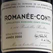 Domaine de la Romanée-Conti Romanée-Conti 2000