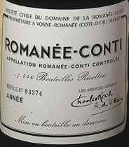 Mixed 2001 & 2004 Domaine de la Romanée-Conti, Romanée Conti
