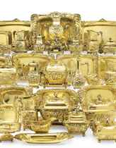 THE WASHINGTON AUGUSTUS ROEBLING AMERICAN SILVER-GILT DINNER SERVICE