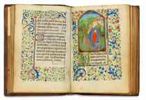 BOOK OF HOURS, use of Metz, in Latin and French, ILLUMINATED