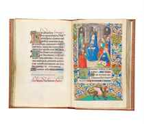 BOOK OF HOURS, use of Langres, in Latin and French, ILLUMINA