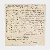 NELSON, Horatio, Viscount (1758-1805) Two autograph letters