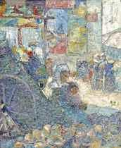 The Market Place, Concarneau