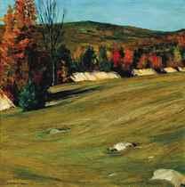 Autumn Landscape (two works)