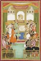 SHAH JAHAN IN DURBAR
