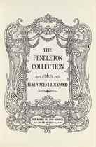 LOCKWOOD, Luke Vincent The Pendleton Collection [Providence,