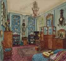 Appartement d'Alexandre Popoff à Paris