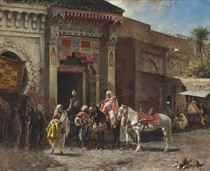 The Gun Buyer (Outside a Moroccan Bazaar Gate)