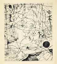 JOAN MIRO (1893-1983)  and LOUIS MARCOUSSIS (1883-1941)