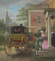 Going Out to Ride: New York, about 1796