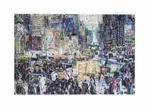 New York City, after George Bellows (Pictures of Magazines 2)