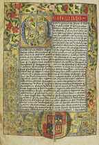 CARTA EXECUTORIA DE HIDALGUIA of Juan Moreno de Navarrete, i