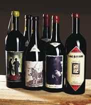 Havens Wine Cellars for Manfred Krankl, Black and Blue 1992