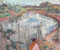 River Landscape of Luang Prabang