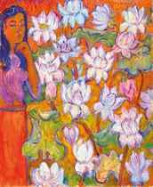 Jettli and Lotus Flowers