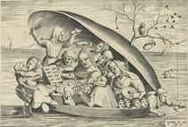 After Hieronymus Bosch (1450-1516) by Pieter van der Heyden