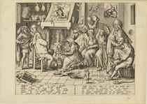 After Hieronymus Bosch by Pieter van der Heyden