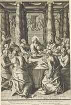 Cornelis Cort (1533-1578) after Livio Agresti (1508-1580)