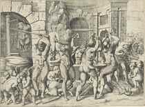 Enea Vico after Francesco Primaticcio (1504-1570)