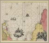 WIT, Frederick de (1630-1706) Terra Nova, ac Maris Tractus c