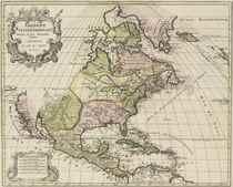 ELWE, Jan Barend (fl 1777-1815) Amerique Septentrionale Divi