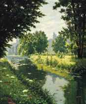 A tranquil river