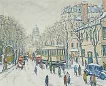 Avenue des Gobelins, Paris