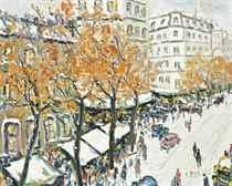 Marché, Boulevard Ornano, Paris