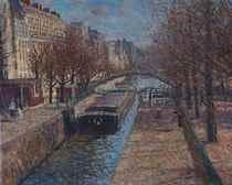 Lumière d'Automne, Canal Saint Martin, Paris 10e