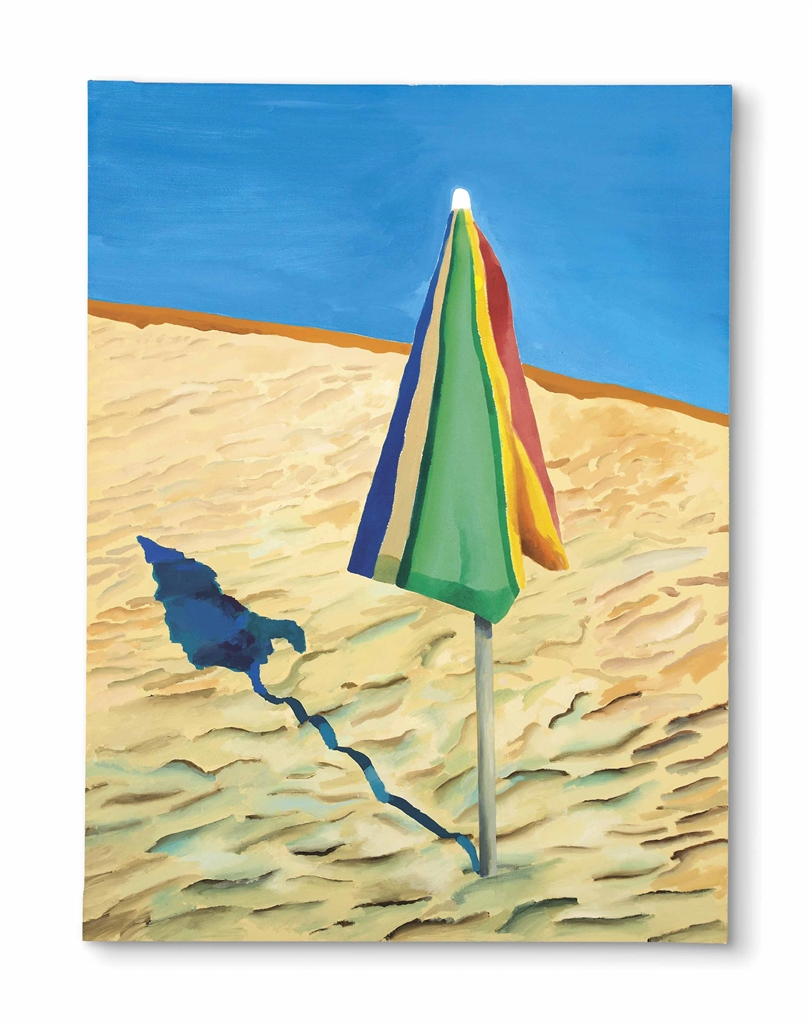 David Hockney (b. 1937) | Beach Umbrella
