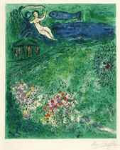 AFTER MARC CHAGALL (1887-1985)  BY CHARLES SORLIER (1921-199