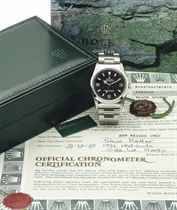 ROLEX A FINE STAINLESS STEEL AUTOMATIC SWEEP CENTRE SECONDS